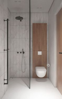 If you are confused what kind of shower room design suits your room. Below you can select design trend shower room. Inspiration design shower room that will make your room look amazing. Tiny House Bathroom, Bathroom Toilets, Dream Bathrooms, White Bathroom, Amazing Bathrooms, Modern Bathroom, Bathroom Showers, Small Bathrooms, Shower Rooms