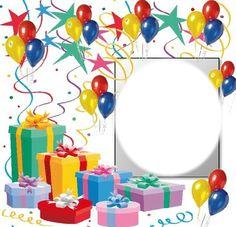 Imikimi Photo Frames Happy Birthday - Home Decor Birthday Photo Frame, Happy Birthday Frame, Happy Birthday Wallpaper, Happy Birthday Flower, Birthday Frames, Birthday Background, Birthday Cards, Happy Birthday Ballons, Happy Birthday Wishes Photos