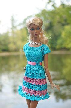 Resultado de imagen para Dress YOUR Barbie a crochet