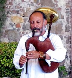 Gaita - the popular Galician bagpipe