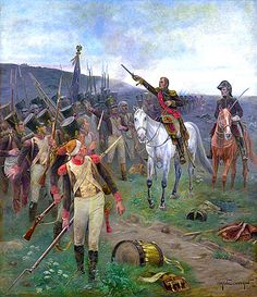 """""""Marshal Ney rallying the troops at Waterloo"""" by Eugène Chaperon.   militar.org.ua"""