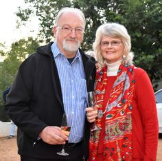 Owners of Diemersfontein, David and Sue Sonnenberg. David Sonnenberg's background in clinical and industrial psychology has always meant that he cares very much about developing the potential of staff.