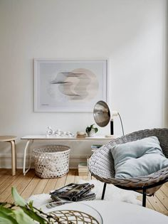 I wish I lived here: a pastel Scandinavian home