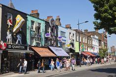 Camden Town in London ist ein Muss für Vintage-Liebhaber! #london #shoppingguide #camdentown #market