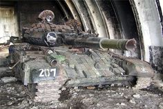 Who: The T-72B (tactical number 207) from the 2nd Infantry Brigade Where: Georgia, Senaki Discovered by Russian troops seized a military base in Senaki and burned.