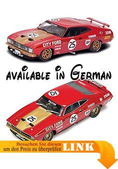 B00IJZIHYY : Scalextric 500003491 - 1:32 Ford XB Falcon Bathurst 1975 No. 25 HD Rennbahnautos. Maßstab 1:32. Super detailliert. Licht vorne/hinten. Digital Plug Ready. Magnatraction System