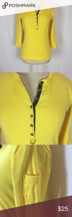Ralph Lauren 100% Cotton with Gold Button Detail. In new condition. Ralph Lauren Tops