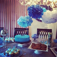 Chic Baby boy shower.