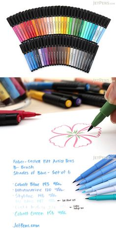 The PITT artist pen by Faber-Castell combines the vibrancy and permanence of traditional India drawing ink with the convenience of a modern disposable pen. The pigmented and lightfast drawing ink is ideal for sketches, drawings, layouts, fashion design, and illustration.
