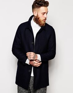 Selected Wool Coat With Detachable Lining ASOS £135 | Styling ...
