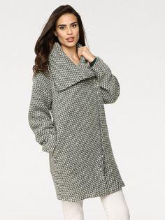 Ženski kaput RICK CARDONA BY HEINE - tamnozelena