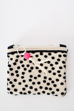 Mini Zipper Pouch - from Gaia Empowered Women - handmade by resettled refugees in Dallas, Texas