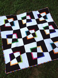 #done  Wonderful quilt, wonderful tutorial - Mad as a Hatter quilt by Elaine Wick Poplin from messygoat.com.  THANK YOU FOR SHARING.