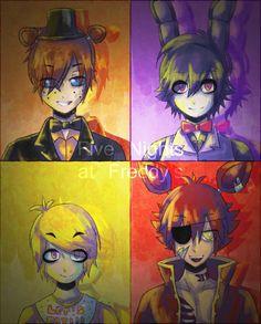 FNAF - The Animatronics by StarTheYoshi.deviantart.com on @DeviantArt