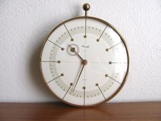 Art Deco Hienrich Moeller Kienzle Clock by WolfHouse on Etsy, $465.00