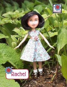 Rachel repainted Bratz doll makeunder handmade by bluedazydolls