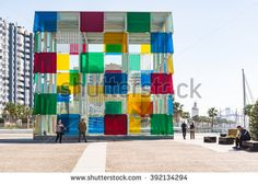The new Malaga Pop-Up museum is housed in the large glass cube situated at the newly renovated port Malaga Spain, Glass Cube, Places In Europe, Spain Travel, Pop Up, Bing Images, Centre, Photo Editing, Royalty Free Stock Photos