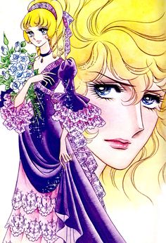 """Rose of Versailles"". Rosalie. Original art work by Ms. Ikeda Riyoko. * Google for Pinterest pals1500 free paper dolls at Arielle Gabriels The International Paper Doll Society also Google free paper dolls at The China Adventures of Arielle Gabriel *"