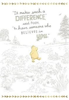 The best Winnie the Pooh quotes about love, friendship, and adventure and more! the pooh Quotes The Best Winnie the Pooh Quotes & Christopher Robin Movie Trailer Cute Winnie The Pooh, Winnie The Pooh Quotes, Winnie The Pooh Classic, Piglet Quotes, Winnie The Pooh Nursery, Vintage Winnie The Pooh, New Quotes, Inspirational Quotes, Baby Quotes