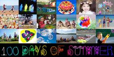 100 Days of Summer – Kids Activities For Every Day