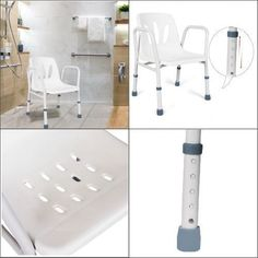 Portable bath seat bench shower bed and beyond wooden chair for elderly spa bathtub adjustable bedrooms . Shower Chair, Shower Seat, Bathtub Shower, Bath Bench, Bath Seats, Bed And Beyond, Adjustable Stool, Stools With Backs, Diy Bathroom Remodel