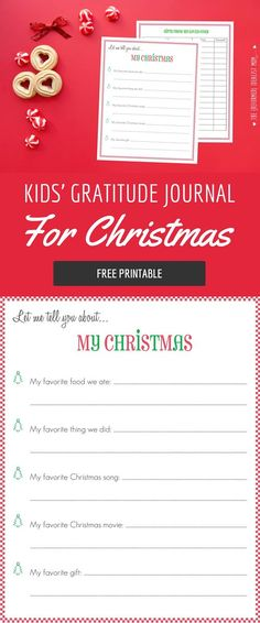 Worried your kids will be spoiled by all the gifts on Christmas morning? Use this free printable to nip entitlement in the bud this holiday season and end up with grateful kids!