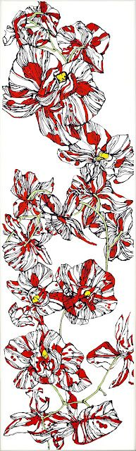 My floral paintings