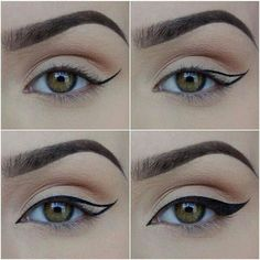Easy way to do eyeliner!!