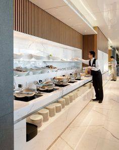 Cathay Pacific Lounges, Hong Kong International Airport | Interiors | What We Do | Foster + Partners