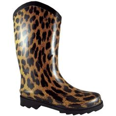 Smoky Mountain 6752 Women's Wide Calf Leopard Rubber Boot Smoky Mountain. $31.05