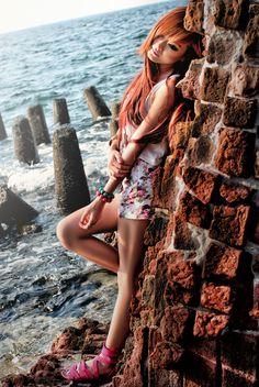Model Stella Kirana Sutedja | Location Kelor Island thousand islands | By Wiel Photography