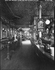 The Princess Louise pub, Photo © Paul Barkshire. London Pubs, Old London, Princess Louise, London Photos, Times Square, Spaces, City, Restoration, Photographs