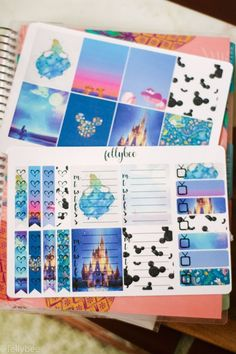 YOU Need These Free Disney Planner Stickers In Your Life! - Felly Bee Hi friends! To Do Planner, Disney Planner, School Planner, Free Planner, Happy Planner, Planner Diy, Planner Inserts, Weekly Planner, Diy Organizer
