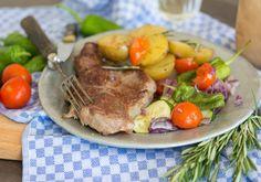 Dry Age Hüftsteak vom Rind mit schnellem Ratatouille und Rosmarin Kartoffeln #beefsteak #dryaged