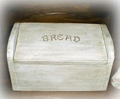 "Bread Box is the perfect piece for your country kitchen counter.  8""H 12""W 6""D"