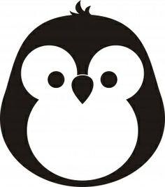 Pengwin Stencil פינגווין