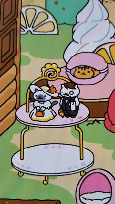 Mom's accomplishment: Jeeves and Sapphire on Neko Atsume Neko Atsume Wallpaper, Random Things, Random Stuff, Kitty Games, Game Background, Art Poses, Sapphire, Snoopy, Kawaii