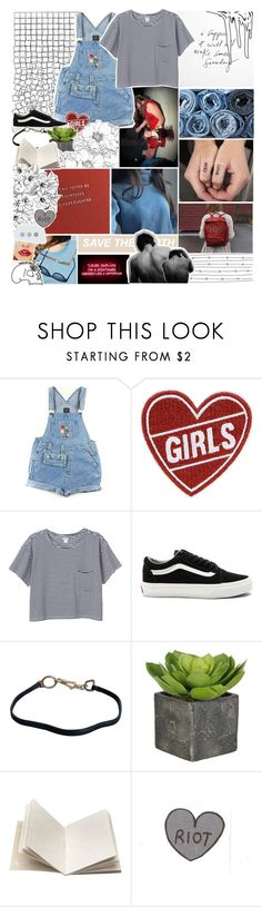 """we're embedded in my mind"" by everything-is-peachy ❤ liked on Polyvore featuring GET LOST, Monki, AllSaints, Vans, Prada and Dosa"