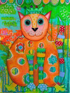 de colores, ilustración de Alisa Steady