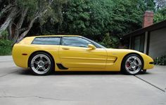 Chevrolet Corvette C5 Shooting Brake Wagon Nomad.  Not your normal station wagon!