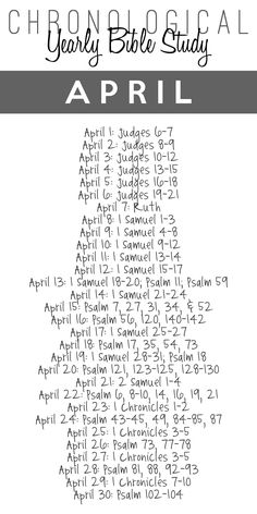 Here's the April Bible Study Guide! You can download the Free Printable 3x6 bookmark download HERE. Need previous months? January February March How is it going for all of you who are following alo...