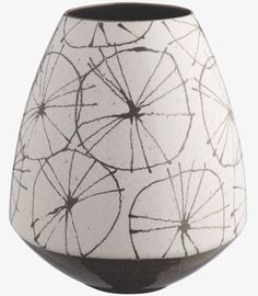 print & pattern ceramic pot