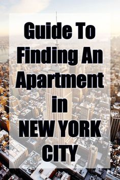 Before writing this guide, I wanted to experience finding an apartment twice. After 2.5 years of living in our first New York rental, we are upgrading to a new apartment! We could not be more excited.