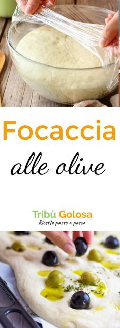 La #focaccia alle #olive più morbida che abbiate mai preparato! La focaccia alle olive verdi e nere è ottima servita al posto del pane, o come invitante stuzzichino all'ora dell' #aperitivo . Provate questa ricetta per un risultato assicurato ed incredibilmente delizioso. #tribugolosa #gourmettribe #golosiditalia #cucina #cucinaitaliana #cucinare #italianrecipes #instafood #instagood #food #italianfood #foodstyling #yummy #foodlover #ricette #recipe #homemade #delicious #ricettefacili Sugar Free Recipes, My Recipes, Italian Recipes, Bread Recipes, Vegan Recipes, Cooking Recipes, Cottage Meals, Focaccia Pizza, World's Best Food