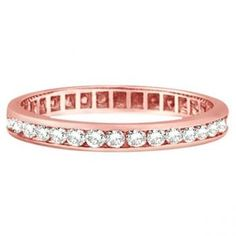 love rose gold and diamonds