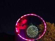 Happy #4thofJuly from #Manitou! #hooper #spinpretty #firework #celebrate #colorfulcolorado #gratefulhooper #sacredcircle  #ichoopers #coloradospringshoopcollective #hoopdance #pikespeak #glow #hoopersofcolorado #hoopersofinstagram