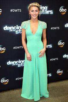 Julianne Hough poses at a photo call for Dancing With the Stars on Nov. 14, 2014. Getty -Cosmopolitan.com