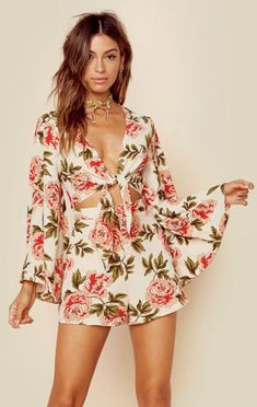 Show Me Your Mumu Clothing Rompers & Jumpsuits Rompers Charleston Romper