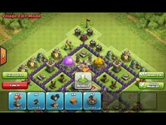 Clash of Clans Strategy: Hybrid Bases Layout Town Hall, Clash Of Clans, Layout Design, Base, Youtube, Youtubers, Youtube Movies