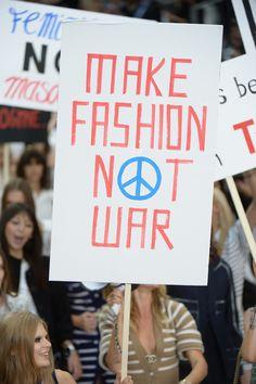 chanel-rtw-spring-2015-paris-fashion-week-protest-make-fashion-not-war